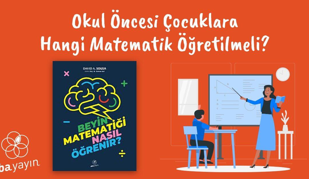 Okul Öncesi Çocuklar ve Matematik- Aba Yayın